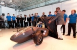 the Formula Student 2013 car is revealsed