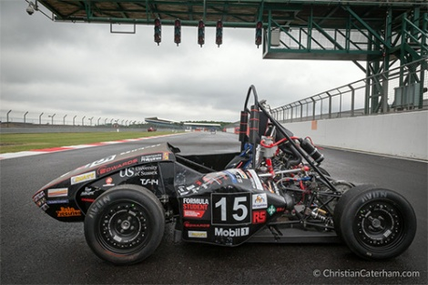 1 Christian Caterham Formula Student