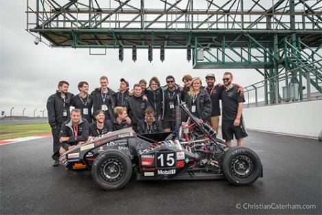 3 Christian Caterham Formula Student