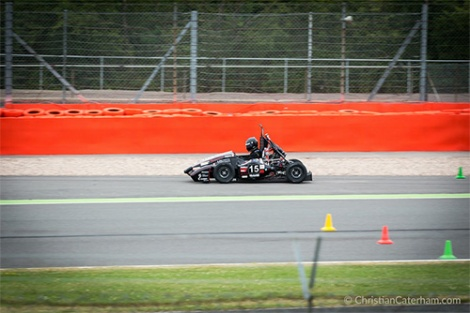 4 Christian Caterham Formula Student