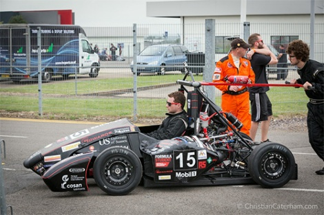 5 Christian Caterham Formula Student