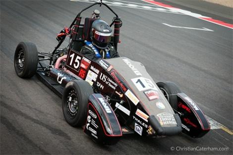 8 Christian Caterham Formula Student