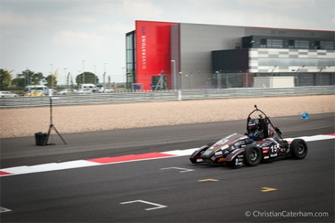 9 Christian Caterham Formula Student