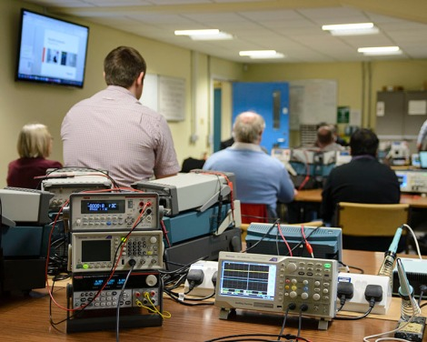 Tektronix & Keithley Sales Presentation and Kit Demonstration